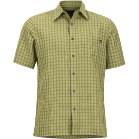 Marmot Eldridge SS Shirt Herr wheatgrass
